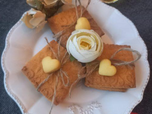 Pacchettini di biscotti con cremino