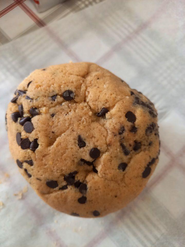 pasta frolla per biscotti con farina di avena e gocce di cioccolato