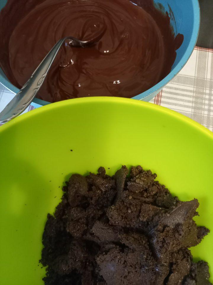 wafer triturati per fondo torta