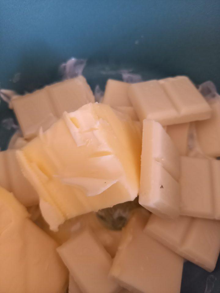 burro e cioccolato bianco
