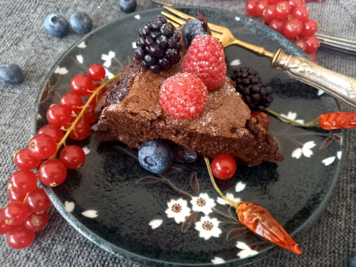 Goduria al cioccolato e peperoncino