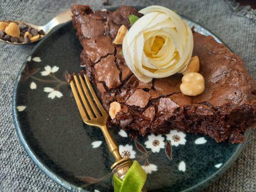Torta a metà tra un cookie e un brownie