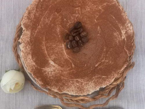Cheesecake al caffè super cremosa