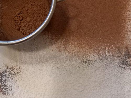 Tartufini al caffè e cioccolato fondente