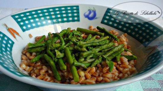 Farro con asparagi