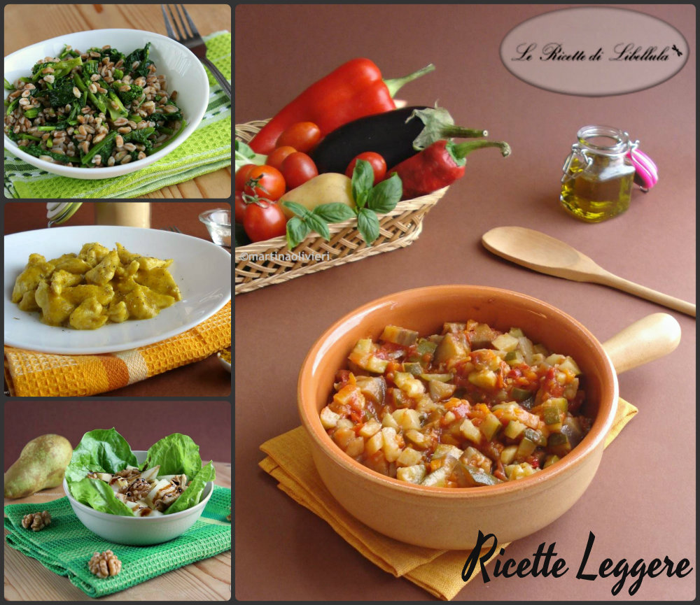 Ricette leggere piatti sani e nutrienti le ricette di for Ricette leggere