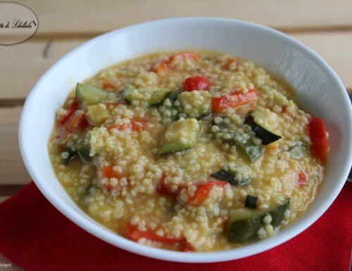 Zuppa di miglio e verdure – Proprietà benefiche