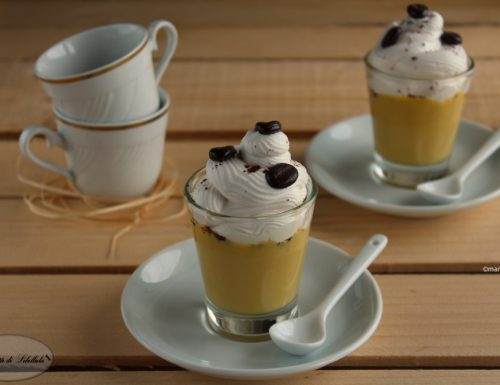 Coppe alla crema al caffè