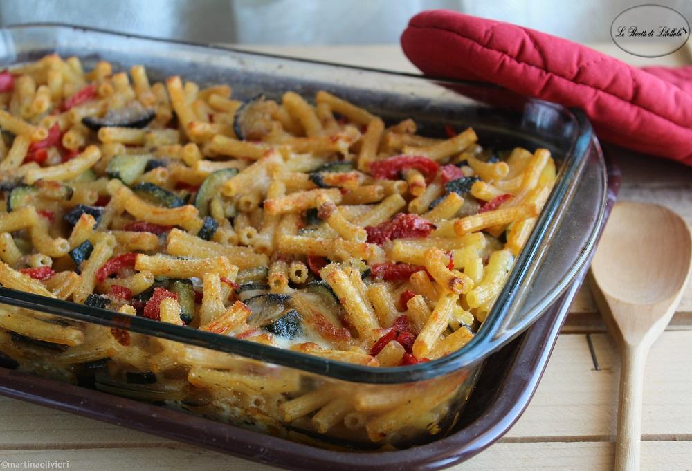 Pasta al forno con verdure le ricette di libellula for Ricette con verdure