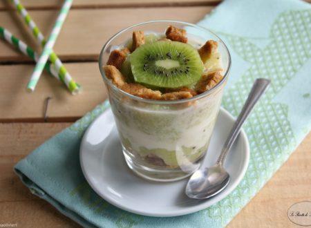 Dessert al kiwi e mela