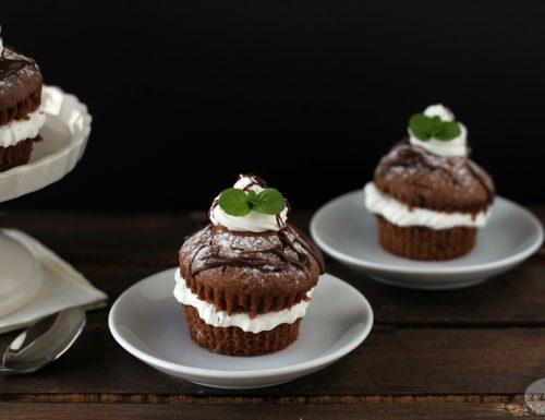 Muffin con crema alla menta