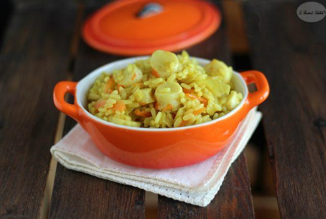 riso curry e surimi evidenza