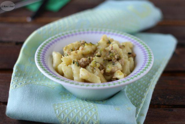 gnocchi zucchine salsiccia