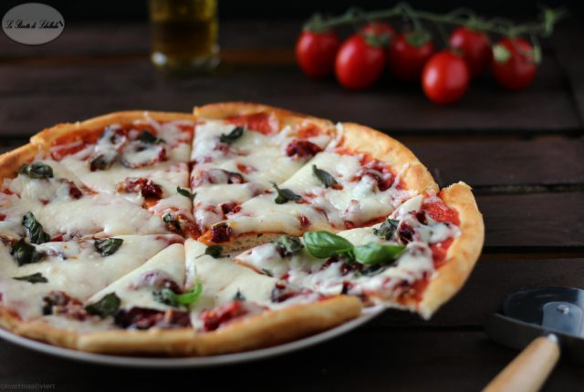 pizza margherita pomodori arrosto
