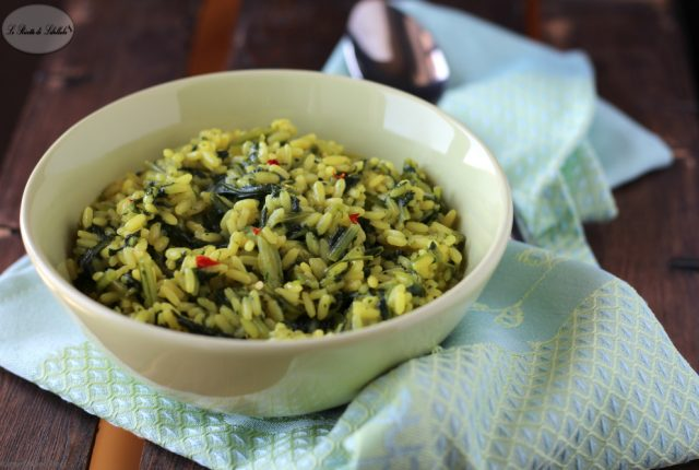 riso cicoria spezie