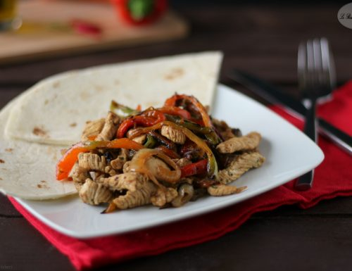 Fajitas di tacchino – Cucina tex mex