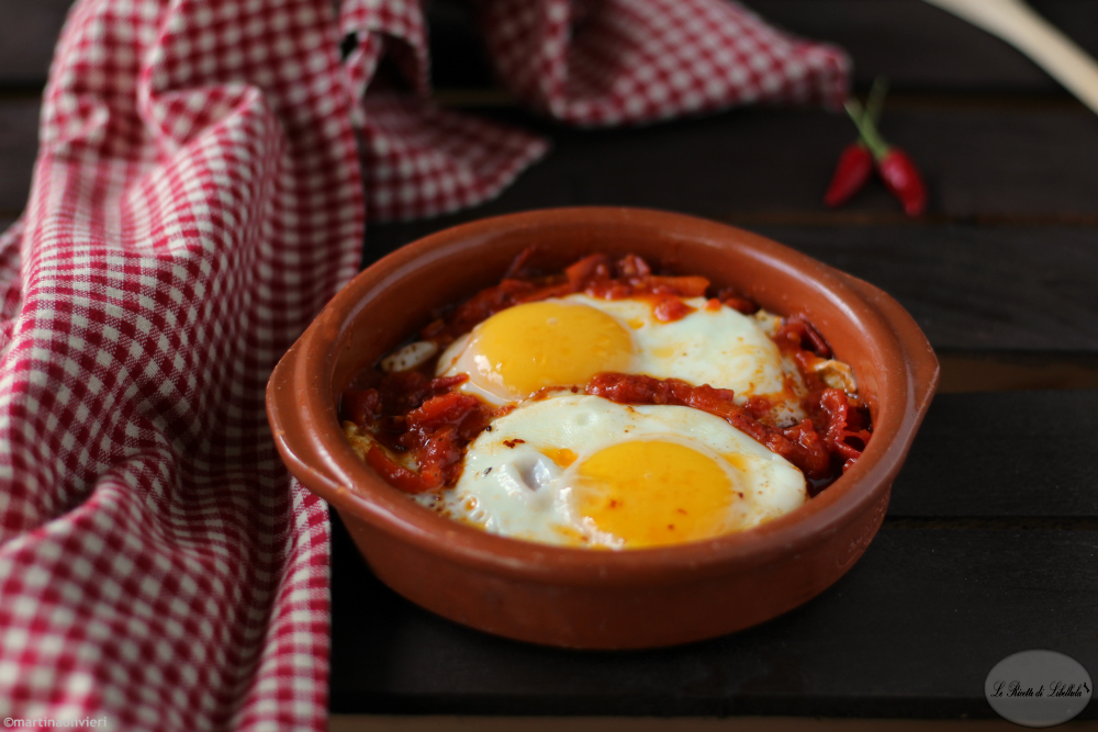 Uova alla messicana - Huevos rancheros