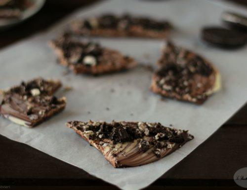 Oreo chocolate bark