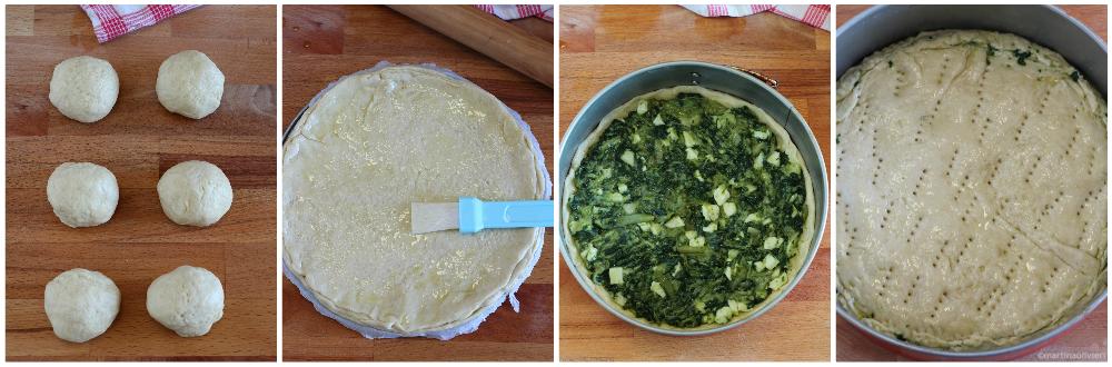 Torta salata con esubero di lievito madre