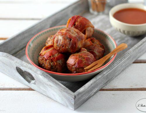 Polpette in crosta di bacon