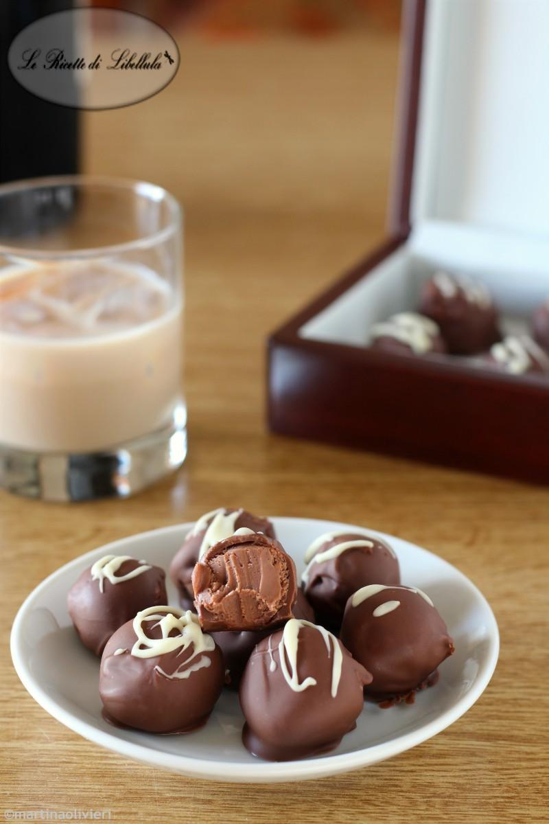 Cioccolatini alla crema whisky