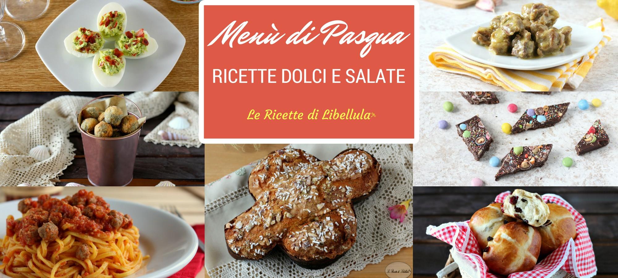 Menu di pasqua ricette dolci e salate for Ricette dolci di pasqua