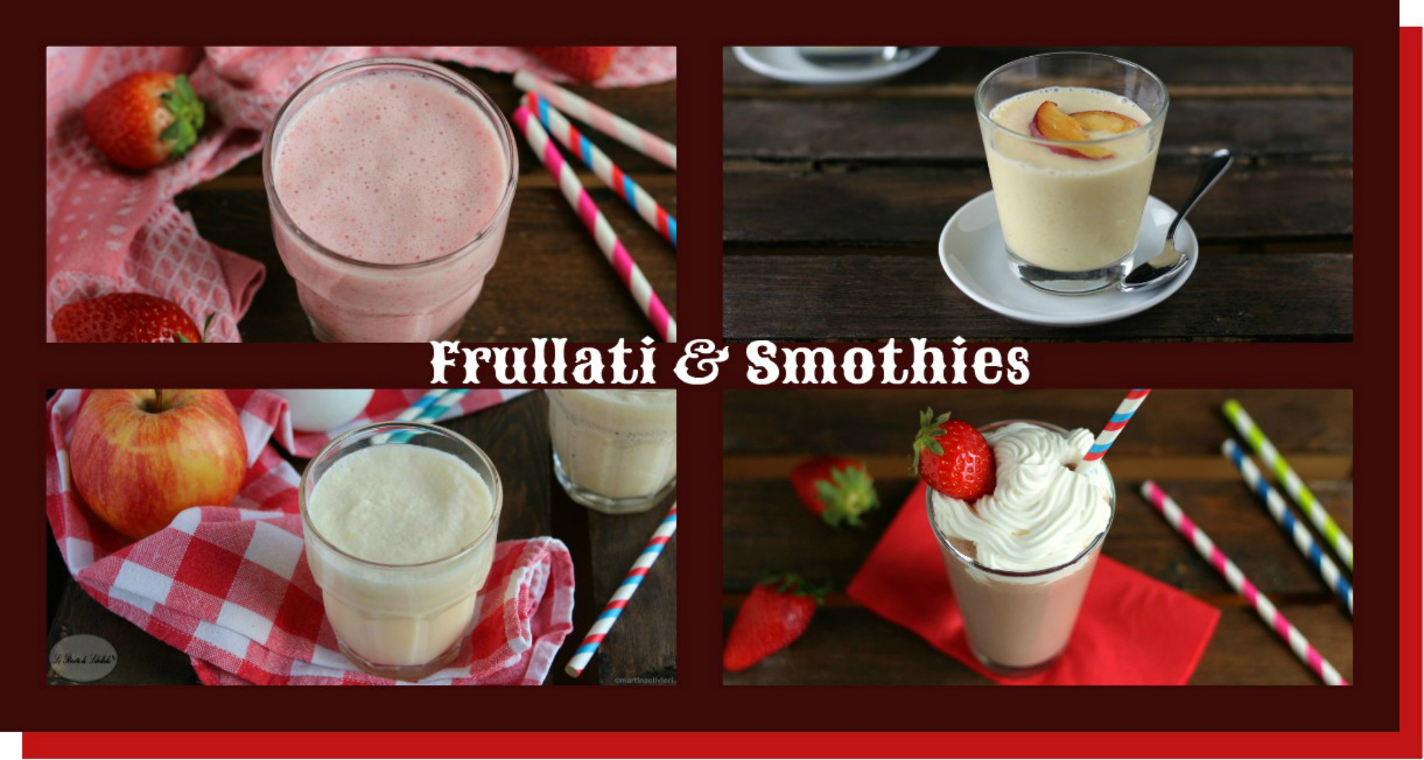 Frullati e smoothies