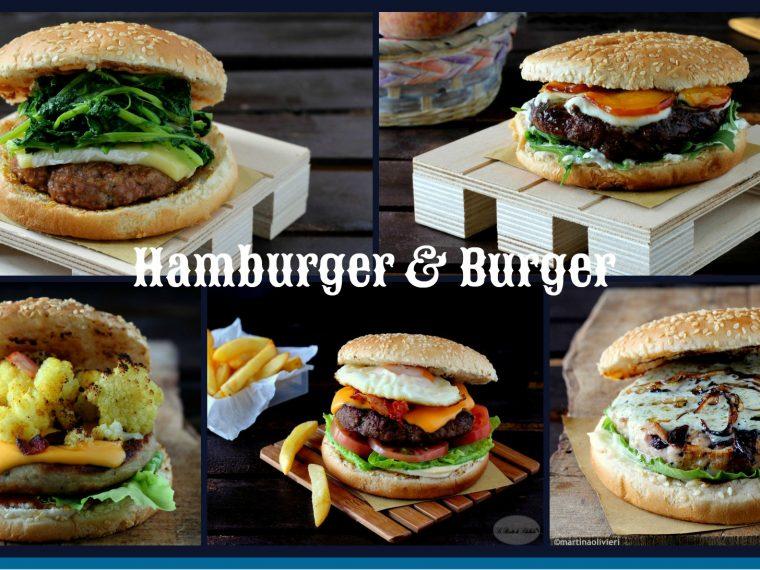hamburger e burger