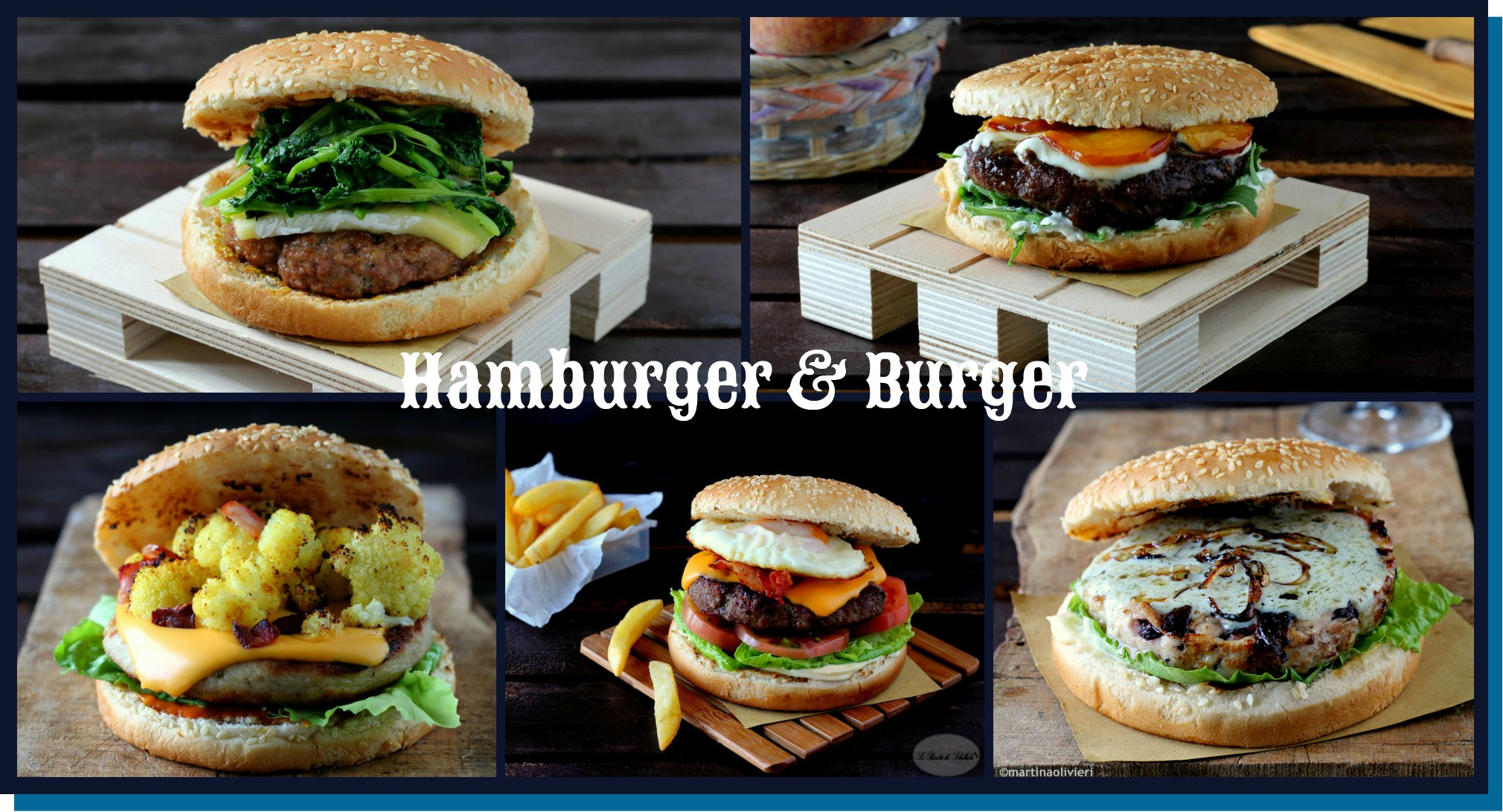 hamburger e burger