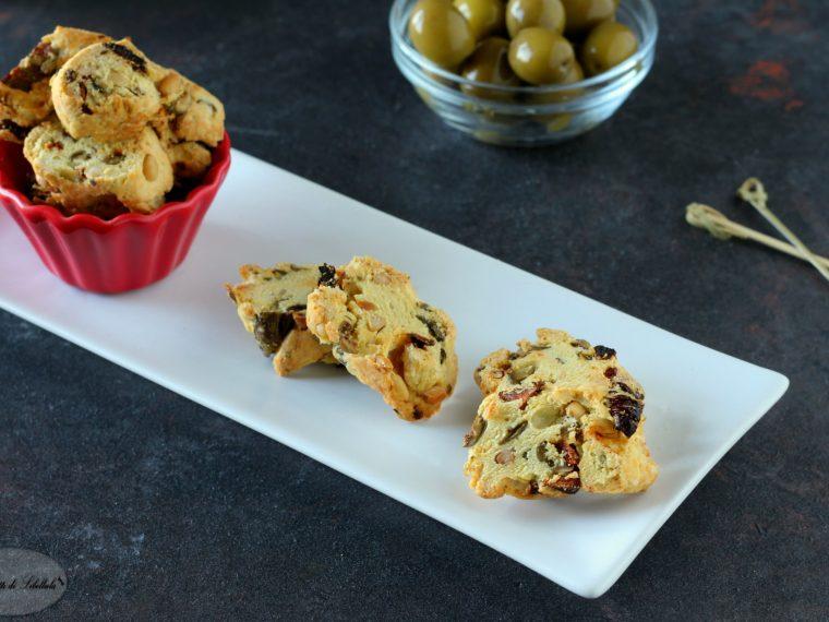 Cantucci salati alle olive