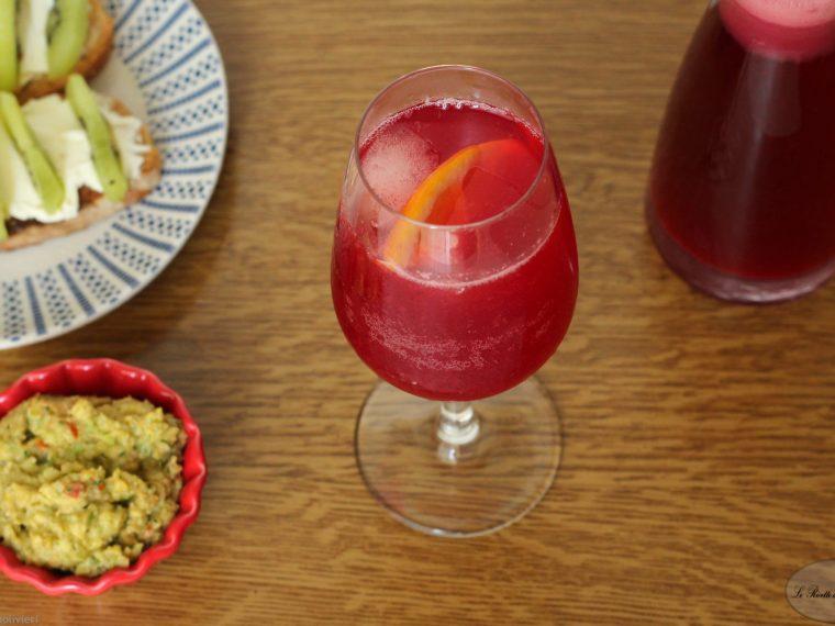 Cocktail analcolico al melograno