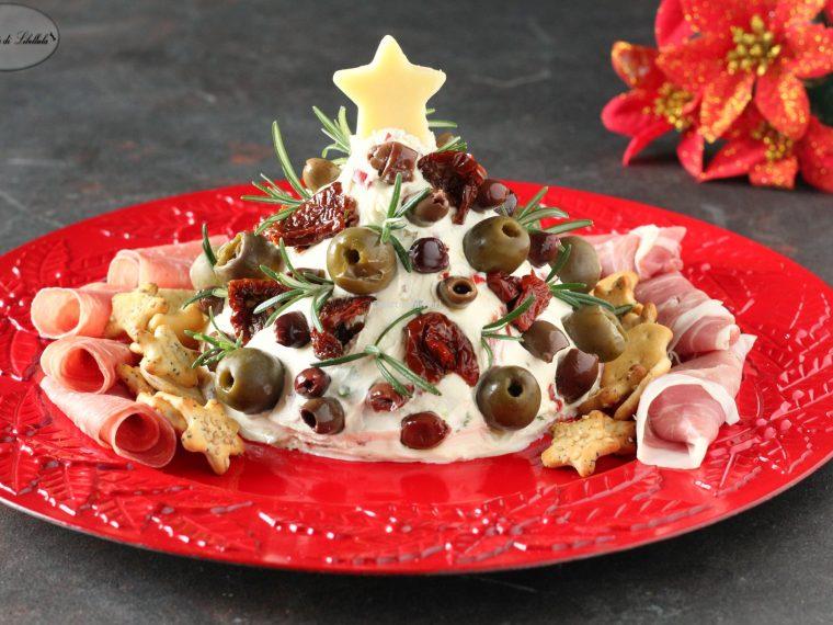 Albero di Natale di formaggio