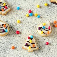 Biscotti natalizi glassati - Senza uova e senza burro