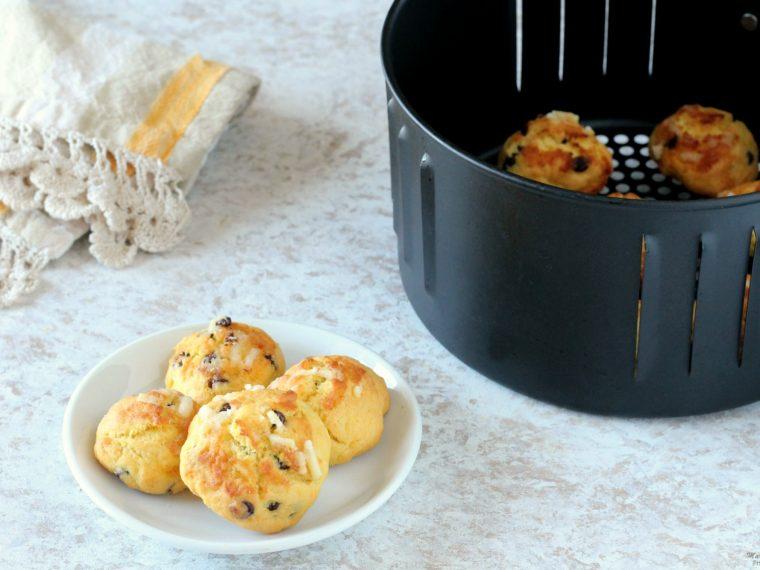 Biscotti con la friggitrice ad aria calda