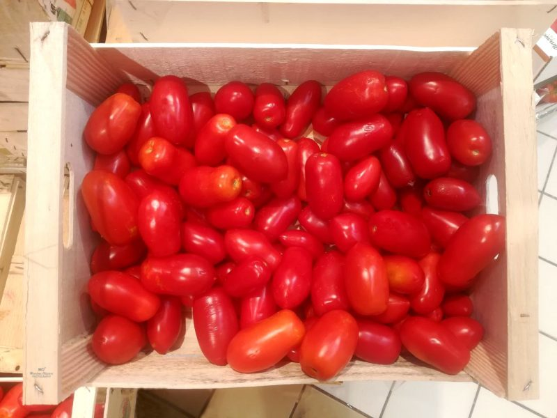 pomodori per bottiglie