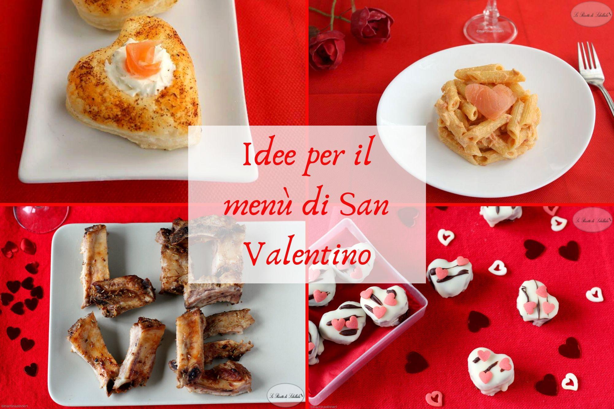 Idee per il menu di San Valentino