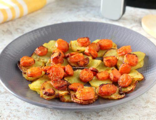 Carote e patate al curry e miele