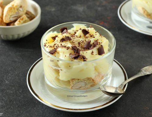 Crema al cioccolato e anice con cantucci