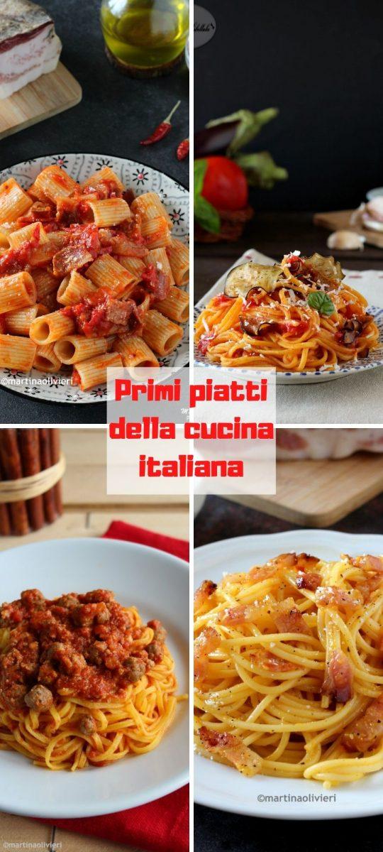 Primi piatti della cucina italiana