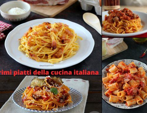 Primi piatti della cucina italiana – I grandi classici