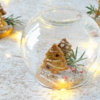 Palla di neve con gingerbread