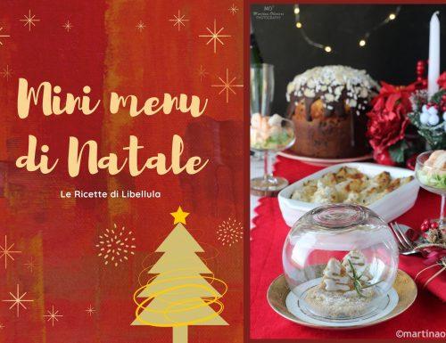 Mini menu di Natale