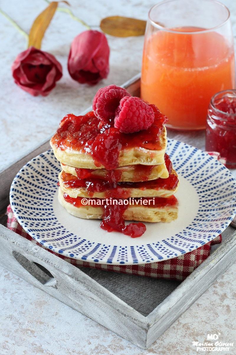 Pancake a cuore per San Valentino