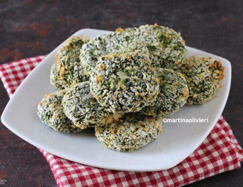 Crocchette di spinaci con ricotta e prosciutto