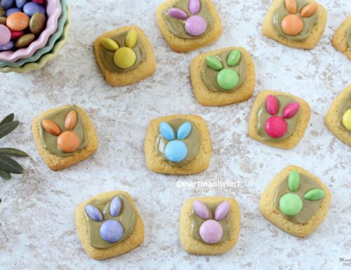 Biscotti coniglietto – Easter bunny cookies