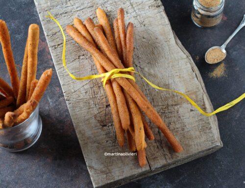 Grissini al pomodoro e origano – Senza glutine