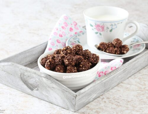 Palline di cereali al cacao – Senza glutine e senza uova