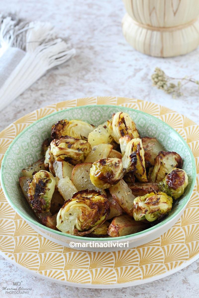 Cavoletti di Bruxelles e patate