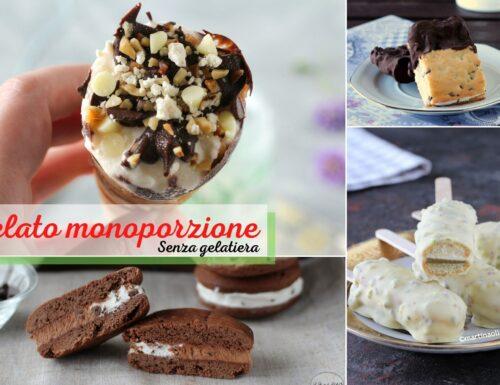 Gelato monoporzione senza gelatiera – Raccolta ricette facili