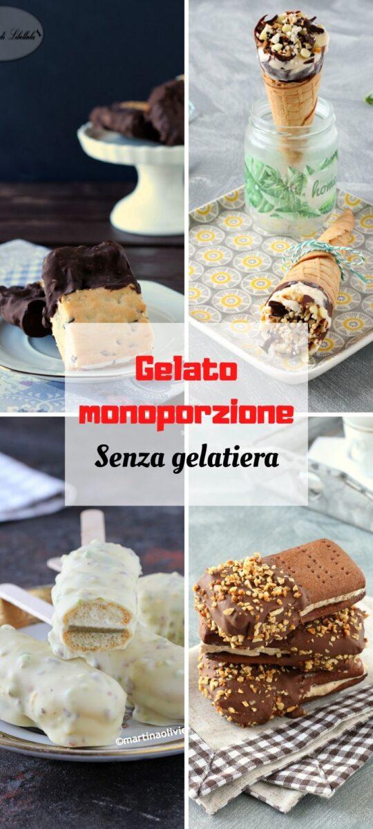 Gelato monoporzione senza gelatiera